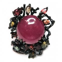 Кольцо с рубином 1713-er