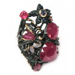 Кольцо с рубином 1714-er