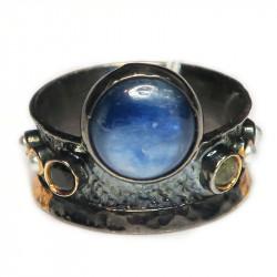 Кольцо с кианитом 1059-er
