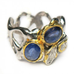 Кольцо с кианитом 1173-er