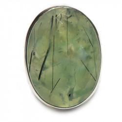 Кольцо с пренитом 1257-nr