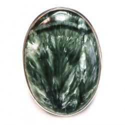Кольцо с серафинитом (клинохлор) 1326-nr