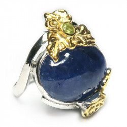 Кольцо с танзанитом 1423-er