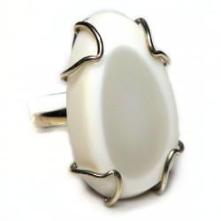 Кольцо с кахолонгом 1471-nr