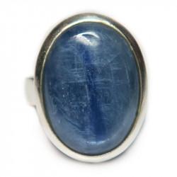 Кольцо с кианитом 437-nr