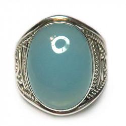 Кольцо с халцедоном 606-nr