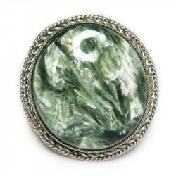 Кольцо с серафинитом (клинохлор) 761-nr