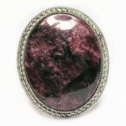 Кольцо с эвдиалитом 850-nr