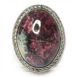 Кольцо с эвдиалитом 959-nr