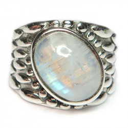 Кольцо с лунным камнем 1021-nr