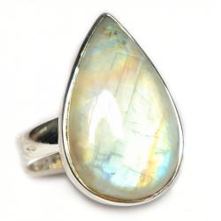 Кольцо с лунным камнем 372-nr