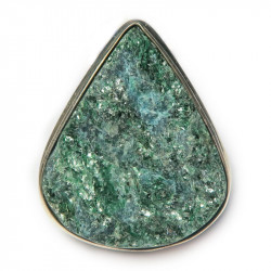 Кольцо с натуральным фукситом 876-nr