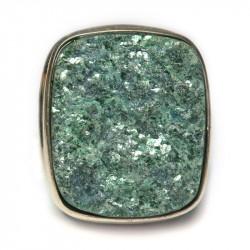Кольцо с натуральным фукситом 893-nr