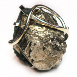 Кольцо с пиритом 1493-nr