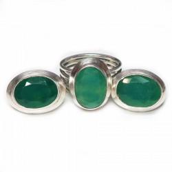 Комплект с зеленым ониксом 526-nk